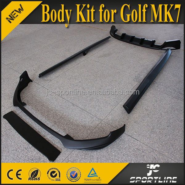 O Style ABS Golf 7 Car Bumper Kit For VW Golf VII 7 MK7
