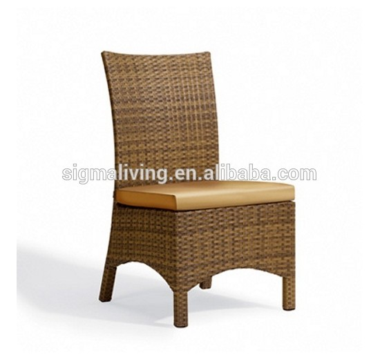 Garden furniture rattan outdoor furniture dining chair