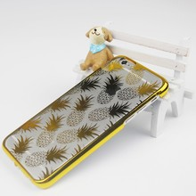 2016 Wholesale custom UV plating tpu cell phone case for iphone 6, 6s