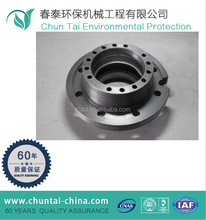 forged CNC machining forklift STEEL brake drums