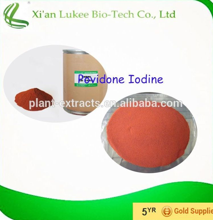 Povidone iodine powder in Auxiliaries and other medicinal Chemicals