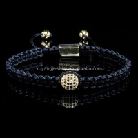 Fashion hot sale adjustment shamballa bracelet,High quality (MB-0619)