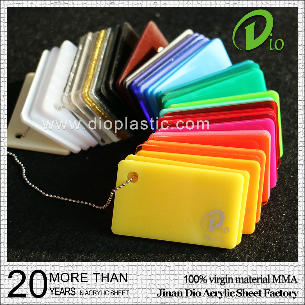 high gloss acrilico plate good quality 4mm cast colored acrylic sheet