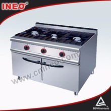CE Approved Stainless Steel gas stove 3 burner/gas stove high pressure
