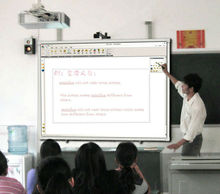 latest anti dragged line technology 88'' all-in-one smart interactive whiteboard at factory prices for education