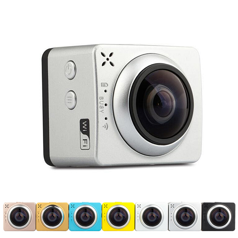 2017 New arrvial hd action camera REAL 4K wifi 360 degree panorama camera action camera SPORTS DV ZXS-X720