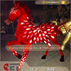 CET-N266 Cetnology Hot New Products Fiberglass Animal Horse Life Size