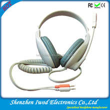 Stereo headset with micrphone long cord hottest in Indonesia language laboratory headset