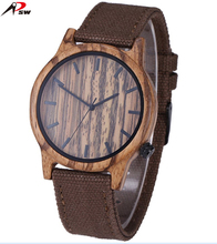 High-quality natural fine wood watch ladies vintage watches photos