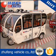 China best supplier cabin three wheel motorcycle with roof