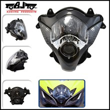 BJ-HLA-001 New arrival ABS plastic custom motorcycle headlight assembly lens For 2006 2007 GSXR600 GSXR750 K6