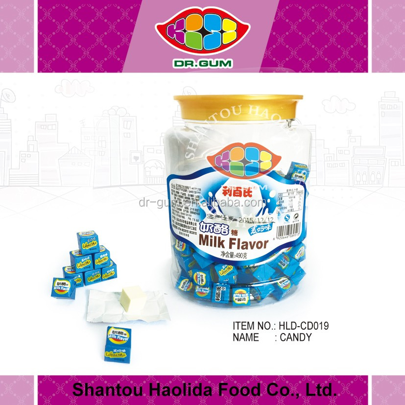 milk cube candy cheese dry candy