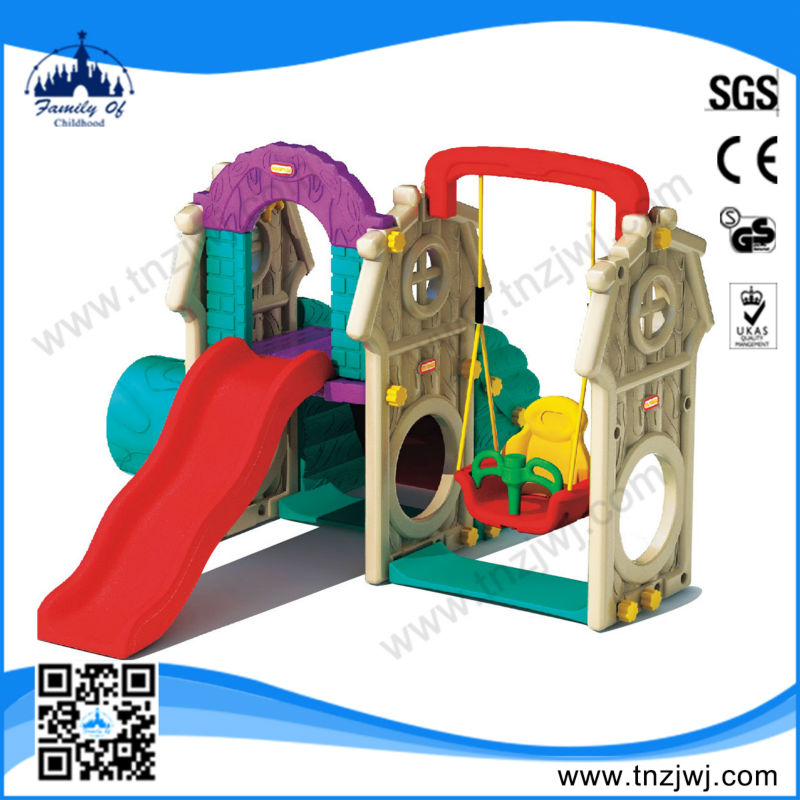 Hot sale Plastic slide childrens swings and slide outdoor sports equipment for sale