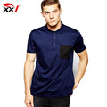 mercerized cotton pocket polo shirt design polo shirts customized logo t shirt with wholesale price