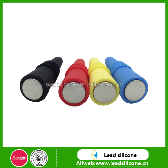 Fashionable Hot Selling Durable Cone Shape Silicone Wine Bottle Stopper
