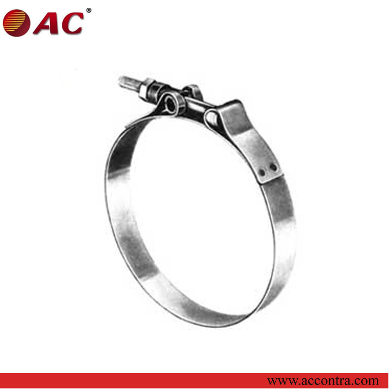 durable and attractive high tension cable clamp and high temp pipe clamp