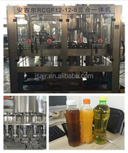 Complete Monoblock 3 in 1 Aseptic Juice Bottling Filling Machine Prices