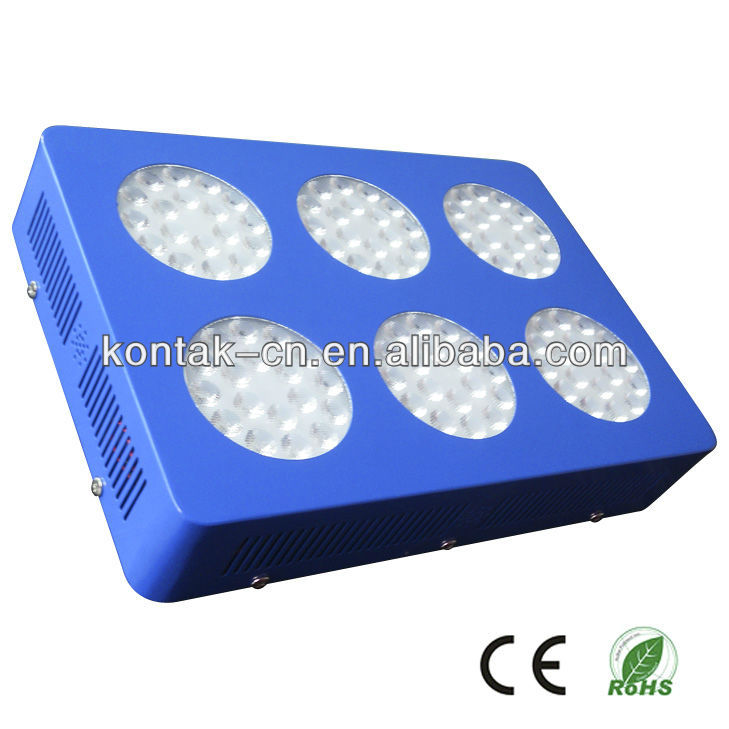 Second Optical Lens 144x3w LED Grow Light for Greenhouse Tomatoes Growing