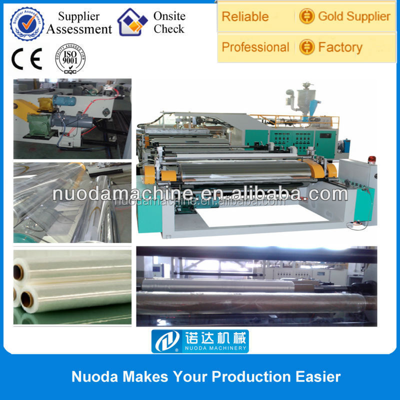 polyethylene extrusion and paper coating machine