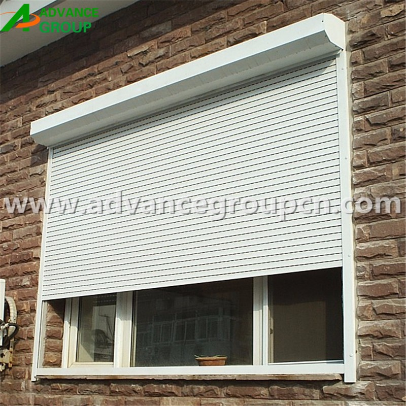 High security stable bullet proof window roller shutter