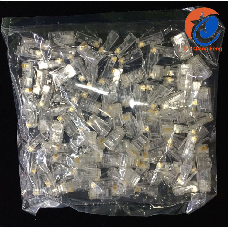 Reasonable price male amp plastic connector crystal head modular plug