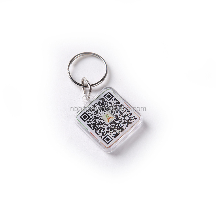 2017 new design A square Qr code Key Chain Album WINGS YOU NEVER WALK ALONE K-pop Blood Sweat &Tea Photo Pendant Keyring
