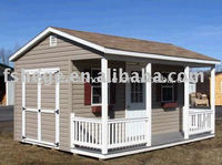 Well designed luxury canadian prefabricated wood house