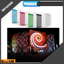 P15.625mm transparent led media facade display video wall display p31.25 led mesh