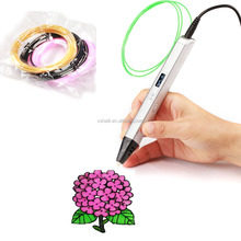 2016 newest popular digital 3D printing pen 3D drawing pen 3D printer