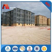 Bright Prefabricated Light Steel Framing Prefab House