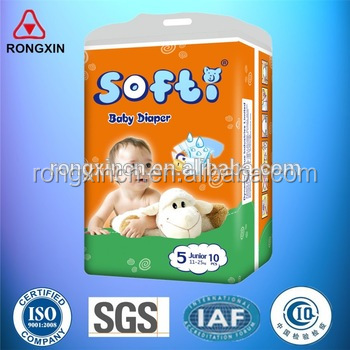 disposable adult colored baby diapers manufacturer in China