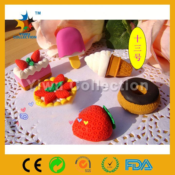 Large Novelty Erasers