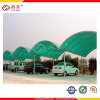 polycarbonate roofing sheet for Parking shed carport