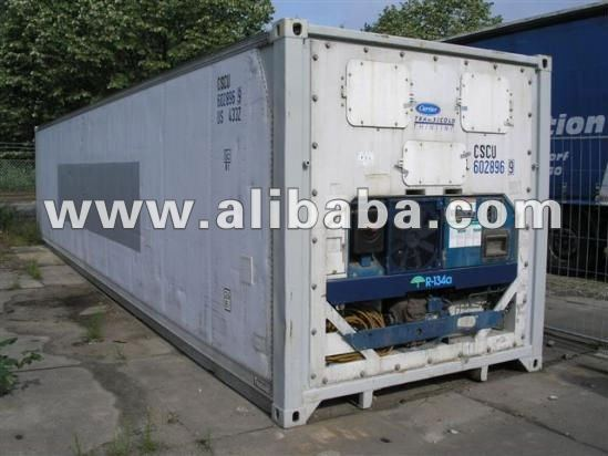 Reefer Container cargo and storage ISO container 40 ft