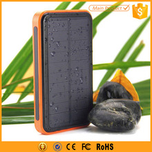High capacity waterproof solar External Battery Pack Portable Charger