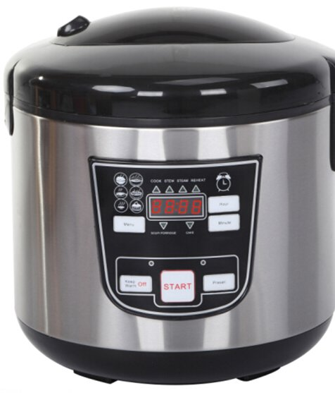 digital 6 programmes electric 3L multi cooker smart function