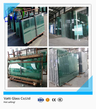 China factory manufacturer CCC&CE&ISO building use 5mm tempered glass price