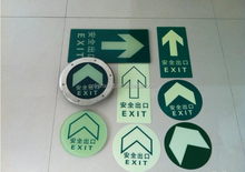 High quality Eco-friendly Printable Luminous film glow in the dark sticker
