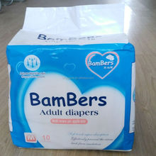 Adult disposable diaper factory price for India Africa
