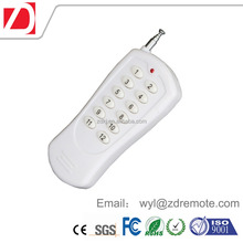 12 buttons long range 200M RF wireless remote control for home appliance