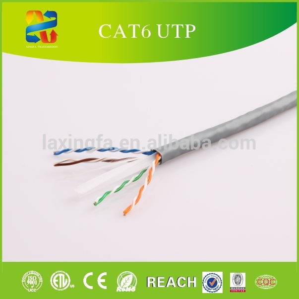 Best Price Solid OFC CCC CCA Conductor CAT 6 Utp Lan Cable 1000ft Pull Box