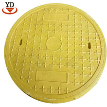 High-strength standard size manhole cover for sidewalk