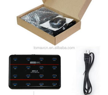 high speed 16 ports usb 3.0 hub for quick charger and data syncs