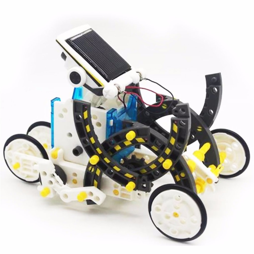 Educational Robot Kit Solar Joy Toy For Kids