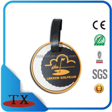 cheap customs round soft pve key tag