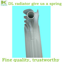 Central heating wall mounted aluminum radiator 500mm size 565mm*80mm*80mm / bimetal aluminum die casting radiators