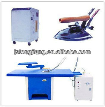 YTT-A laundry ironer+steam generator+commercial clothes iron table