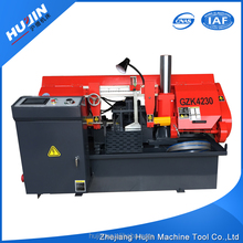 GZK4230 CNC steel pipe metal cutting band saw machine price