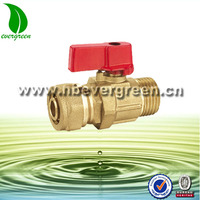 Forged Male Brass Ball Valves for Pex-al-pex Pipes