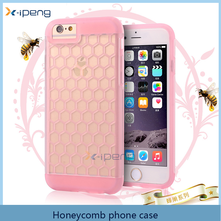 Newest fashion Honeycomb 3D style TPU back cover case for lg stylus 2 plus